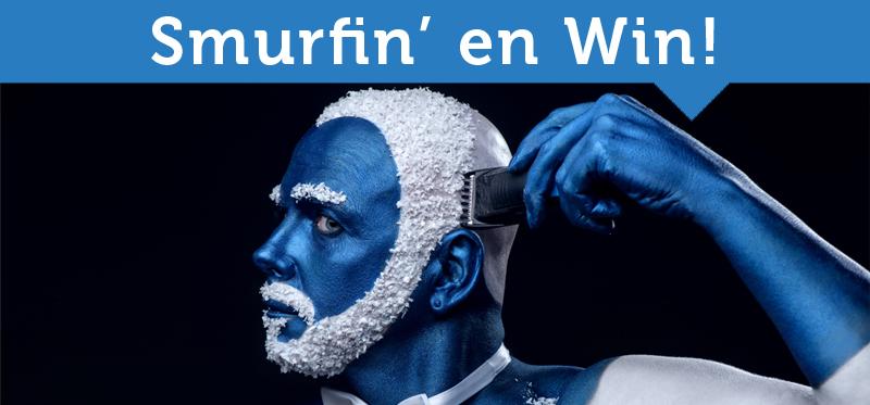 Smurfin' en Win!