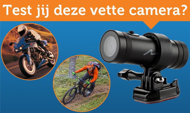Test jij deze camera voor op je motor of fiets?
