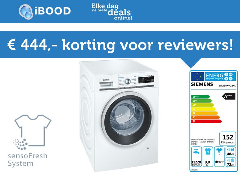 Test jij de nieuwste Siemens wasmachine?