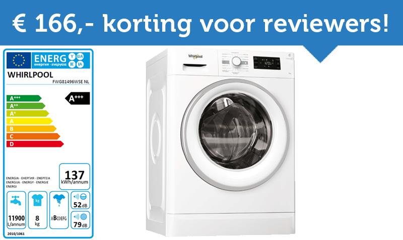 Test jij een nieuwe Whirlpool wasmachine?